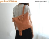SUMMER SALE PEACH leather backpack, leather school bag, womens backpack, Leather backpack, Student bag, backpacks for women, back to school,