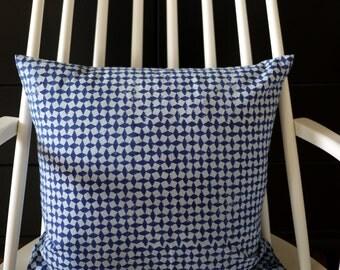 "block printed cushion cover ""Quattro"""