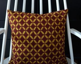 "block printed cushion cover ""Bagru"""