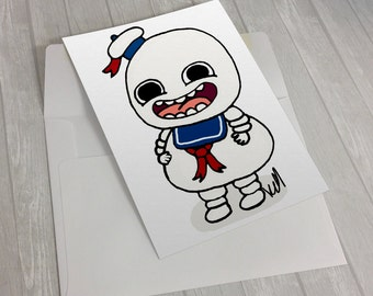 Ghostbusters / Stay Puft / Greeting Card
