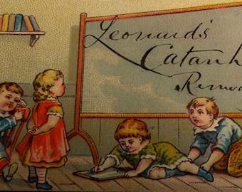 Victorian Trade Card, Leonards' Remedy