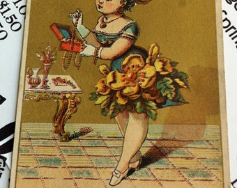 Antique Trade Card, Griswold's Tea & Coffee