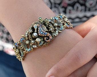 Seahorse Bracelet, Seahorse Jewelry, Seahorse, Nautical Bracelet, Nautical Jewelry, Ocean Bracelet, Beach Bracelet, Sea Bracelet BR660