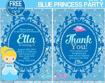 Cinderella invite | Etsy
