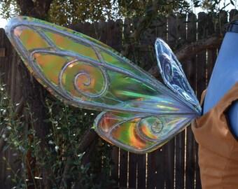 Tiny Navi Inspired Iridescent Fairy Wings