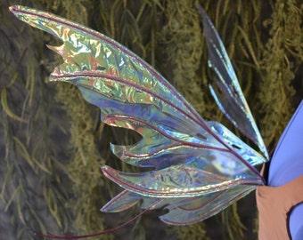 Small/Medium Spiky Pixie Iridescent Fairy Wings