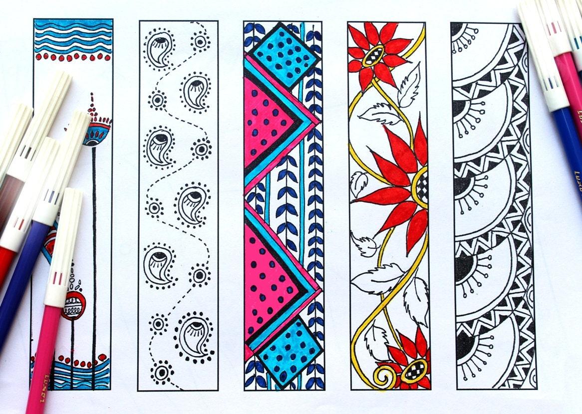 Imprimables Favoris Signets Pour Colorer Signets Coloration