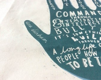 The Power of Respect Tote Bag