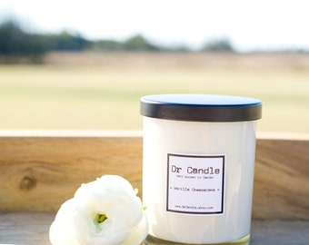 Vanilla Cheesecake wooden wick soy candle