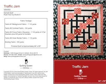Traffic Jam Quilt Pattern