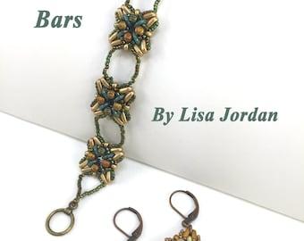 Hot Cross Bars Bracelet Tutorial By Lisa Jordan, Starman TrendSetter