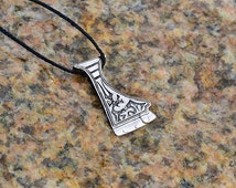Ancient axe pendant Viking Axe Pendants ( double sided ). Ritual Axe Pendant. Axe Power Symbol of Strength. Charm Pendant.