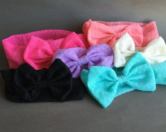 Free Shipping* Turban Bowknot Hairband, Head Wrap
