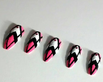 Stiletto Nail - Samantha by classy claws inspired stiletto press on nails - fake nails - false nails