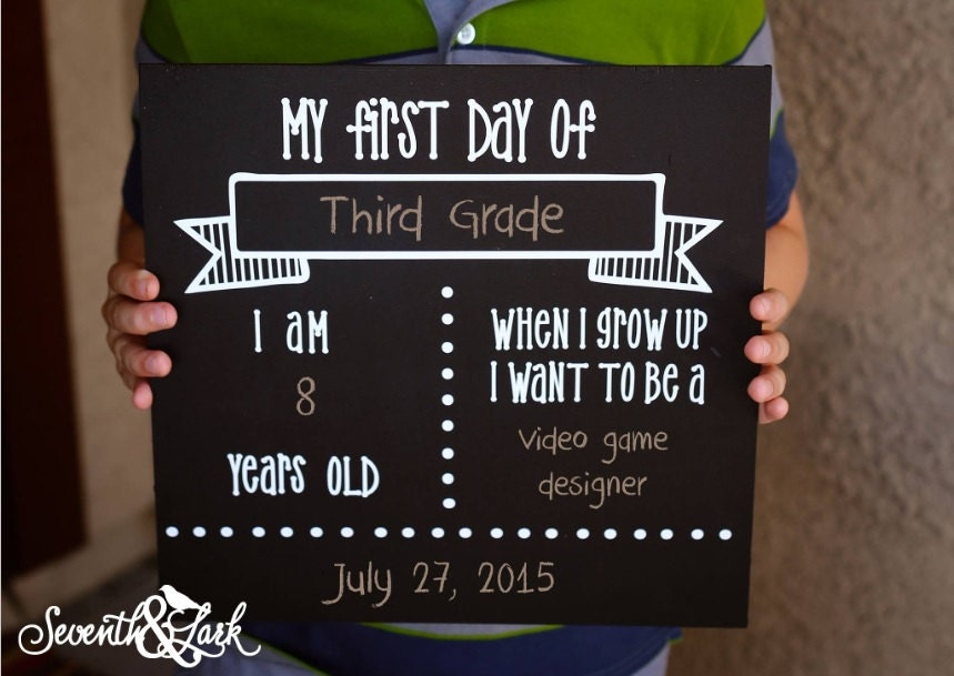First day of school | Etsy