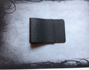 Raw Wide Mouth Money Clip
