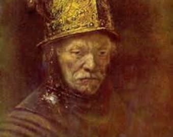 Rembrandt Print The Man with the Golden Helmet