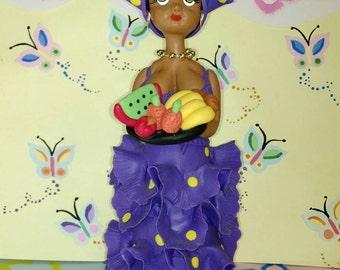 Fruit Doll cold porcelain