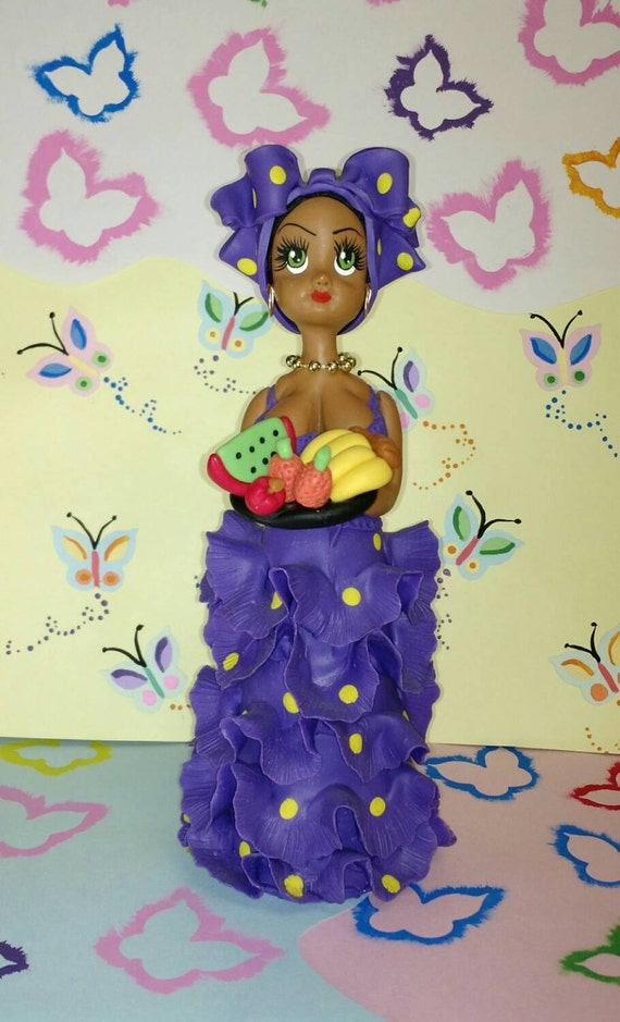 Fruit Doll cold porcelain