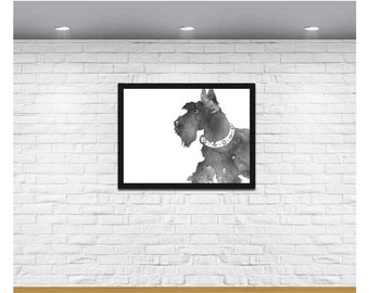 Scottie Dog, Scottie Dog picture, Dog Print, Dog Printable