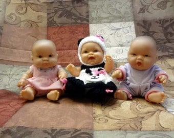 Three 8 Inch Berenguer Lots To Cuddle Baby Dolls