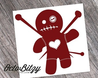 VooDoo Doll Vinyl Decal Sticker