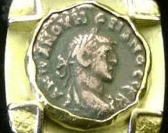 Miye Matsukata Roman Coin Ring