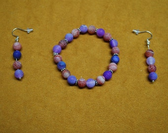 Red Hat Society Jewelry - Bracelet and Earings