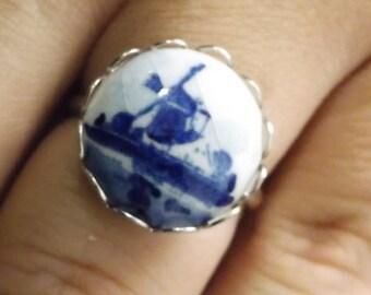 Cute Vintage Adjustable Ring