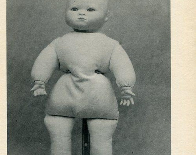 FREE usa SHIP Byron Doll Pattern 1980's 14.5 Eric Body BY-62 Arthur A Gerling Old Store Stock Sewing Pattern