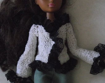 OOAK Hand Knitted Jacket For Moxie Teenz dolls
