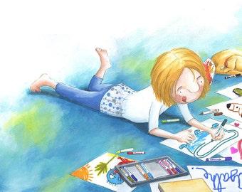 My drawings - original artwork-