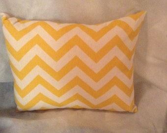 Yellow Chevron Decorative Pillow Home Decor Chevron Pillow