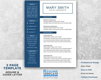 job resume template for word job resume templates word resume cover letter for word - One Page Resume Template Word