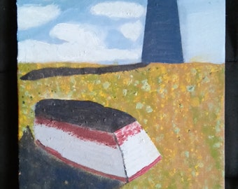 The Rowboat and the Lighthouse