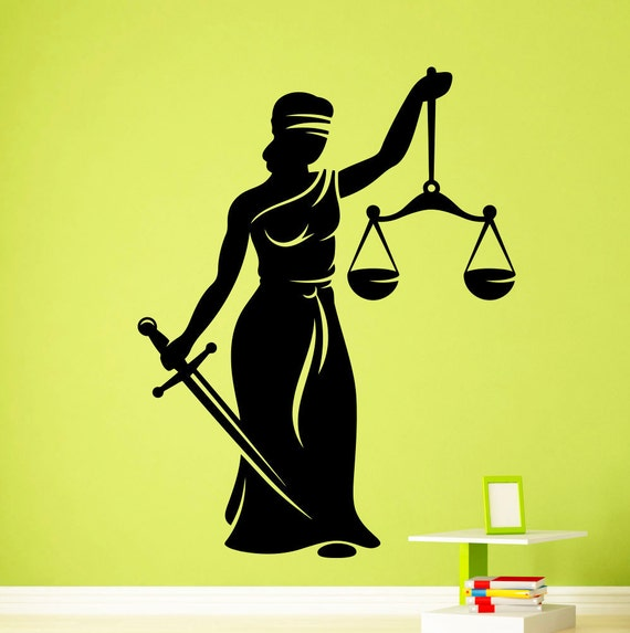 lady justice wall art -#main