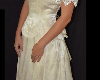 Vintage Victorian Wedding Gown