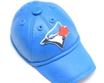 Fondant Baseball Blue Jays Cap / Hat / Cake Topper