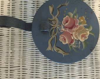 Vintage Hand Painted Silent Butler