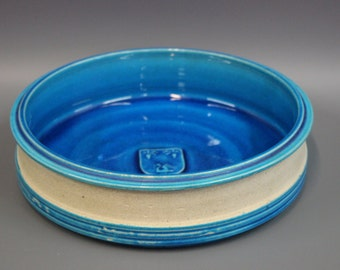 Ceramic dish by Herman Kähler