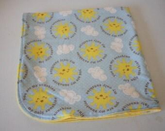 30x30 Sunshine Baby Blanket