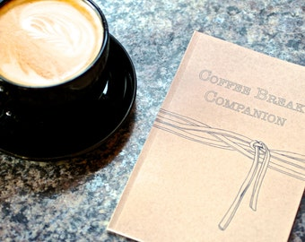 Coffee Break Companion - A Coloring Book for Adults