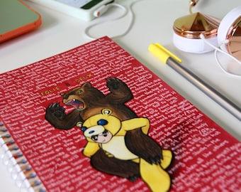 Folie à Deux Inspired Notebook