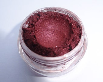 BOUDOIR - vegan mineral eye shadow hypoallergenic red purple burgundy wine makeup eyeshadow
