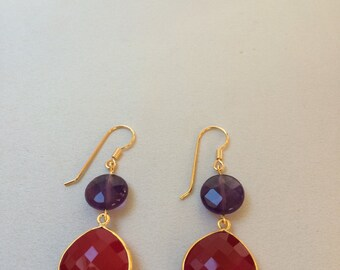 fine stone earrings