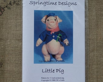 pattern to take a little pig