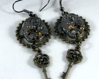 Gearrings with rose keys