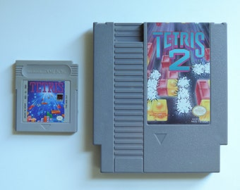 Tetris Collection: Tetris for Gameboy / Tetris 2 for Nes