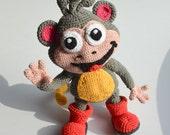Crochet PATTERN - Monkey by Krawka