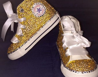 Toddler girl size 5-10 bedazzled shoes
